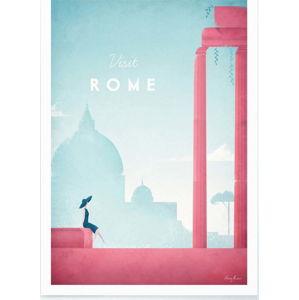 Plakát Travelposter Rome, A2